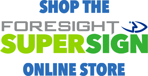 Foresight SuperSign Online Store